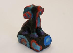 Jennifer CowanPainted clay sculpture