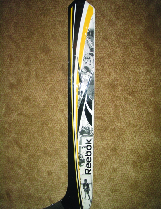 Shannon McCarthy Gel Transfer on Hockey Stick